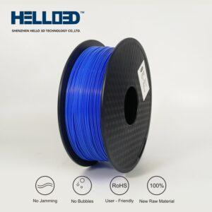 HELLO3D 3D Printer Filament - 1.75mm - Blue - 1Kg