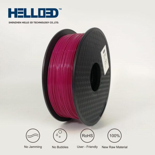 HELLO3D 3D Printer Filament - 1.75mm - Maroon - 1Kg
